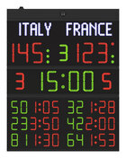 FC62H25N Scoreboard model FC62 with digits height 25cm._Front