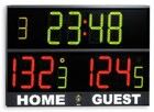 Electronic scoreboard for multisport (150 x 98 cm) for great gyms and sporting centres. For basket, volley, 5-aside, handball- Basketball Scoreboard