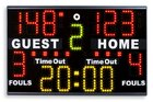 Portable Scoreboard for multisport,  basketball scoreboard, sport scoreboards, Electronic scoreboard