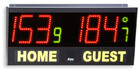 Volleyball scoreboard, Electronic scoreboard for volley, five-players football, table tennis