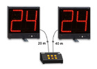 Basketball 24 second shot-clock timer, Pair of 24s + console-24 second shot clock/Basketball Scoreboards