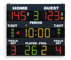 FIBA approved Basketball scoreboard - Multisport scoreboard