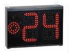 Basketball 24 second shot clock timer (H20cm) Ideal for Basketball, 5-a-Side Football (Futsal), Waterpolo