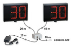 Water polo 30 second shot-clock timer, Scoreboards for displaying ball possession time in Water Polo