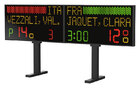 Large Electronic Scoreboard (240x62cm) for fencing finals