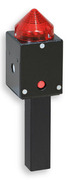 Acoustic buzzer and light signaller for requesting Time-Out in volley-ball / Time out signal