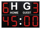 Outdoor scoreboard