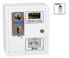 Acceptor/Timer for 4 showers