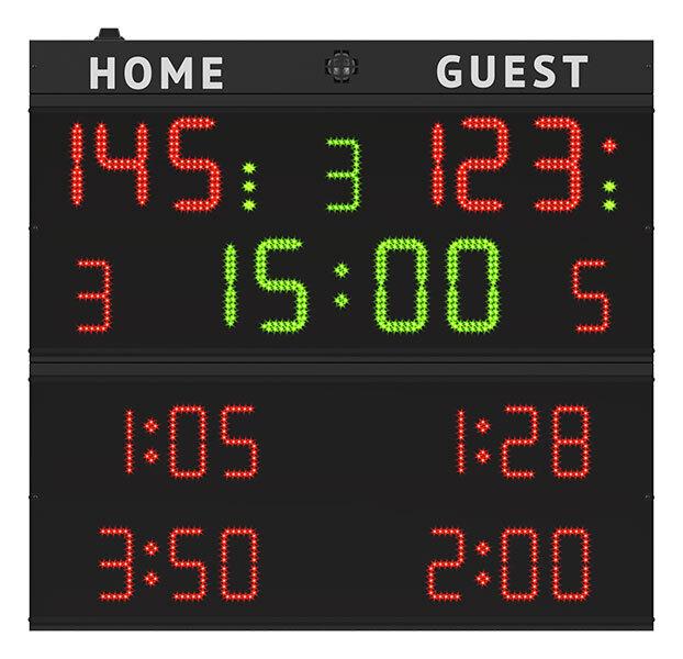 favero multisport anzeigetafel sport anzeigetafel sportanzeige elektronische anzeigetafel. Black Bedroom Furniture Sets. Home Design Ideas