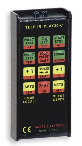 FAVERO: Electronic scoreboard with timer for multisport