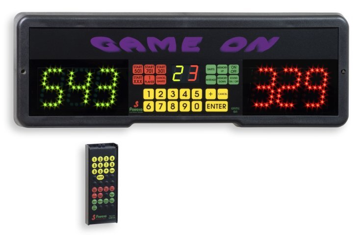 Favero Electronic Led Sports Scoreboard For Darts Game