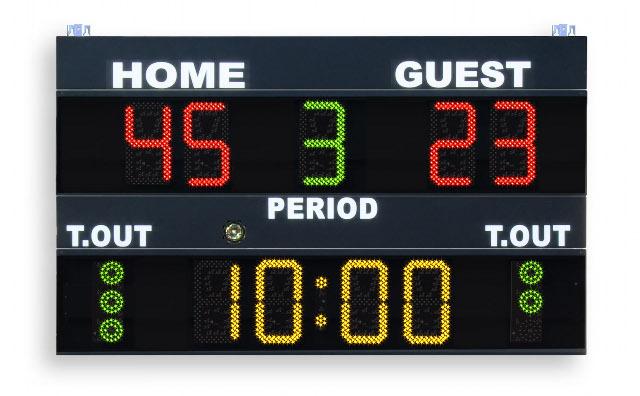 favero electronic scoreboards multisport scoreboards led scoreboards. Black Bedroom Furniture Sets. Home Design Ideas