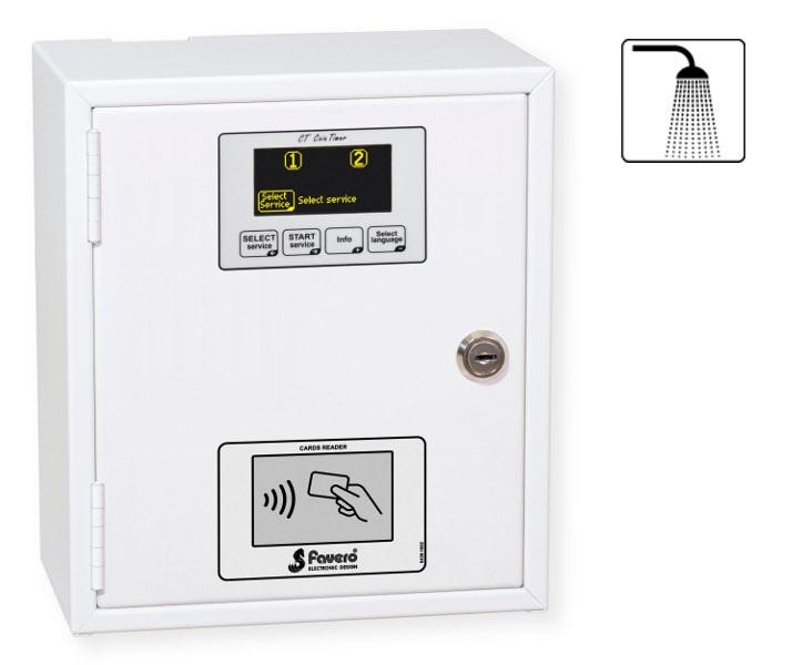 Favero electronic design electronics for sport for Temporizador ducha