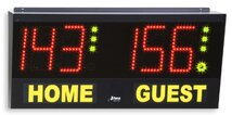 Volleyball scoreboard, Electronic scoreboard for volley, table tennis