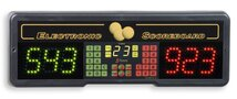 Electronics Scoreboard for billiards and table tennis games with timer