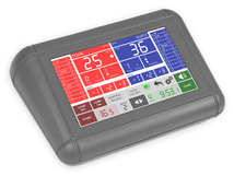 """multisport console with 7"""" touchscreen display"""