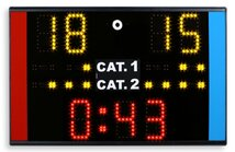 Martial arts scoreboard, Karate Portable Scoreboard