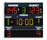 FIBA approved Multisport scoreboard for sport palaces and school gyms and college gyms - Basketball scoreboards - Electronic scoreboard