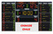 Multisport scoreboards - Basketball Scoreboards + statistics panels - Electronic scoreboards